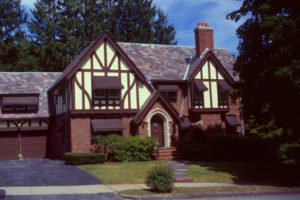 Antique Homes Magazine Tudor Revival house Massachusetts