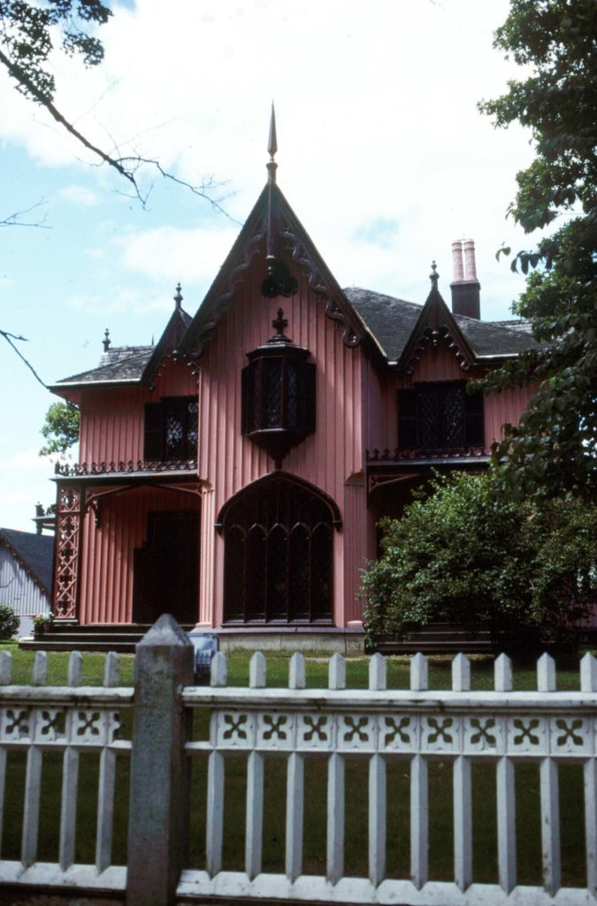 Roseland Cottage Designed By Joseph Wells In The Gothic Style Woodstock Connecticut