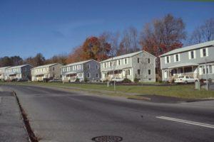 Densely built neighborhood