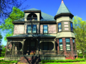 Built in 1887, this Queen Anne home has been lovingly maintained by its current owners.