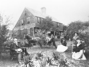 An early photograph of Cajacet.