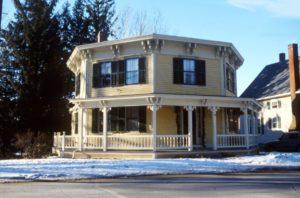 The Octagon House Italianate style built in Gardner, Massachusetts