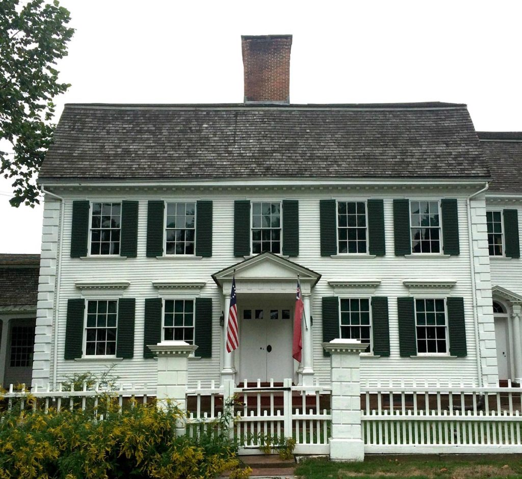 This house museum is a fantastic example of Georgian Architecture.