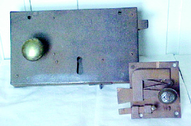 An early box lock with apparatus.