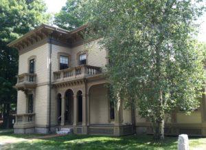 Beautiful Italianate home.