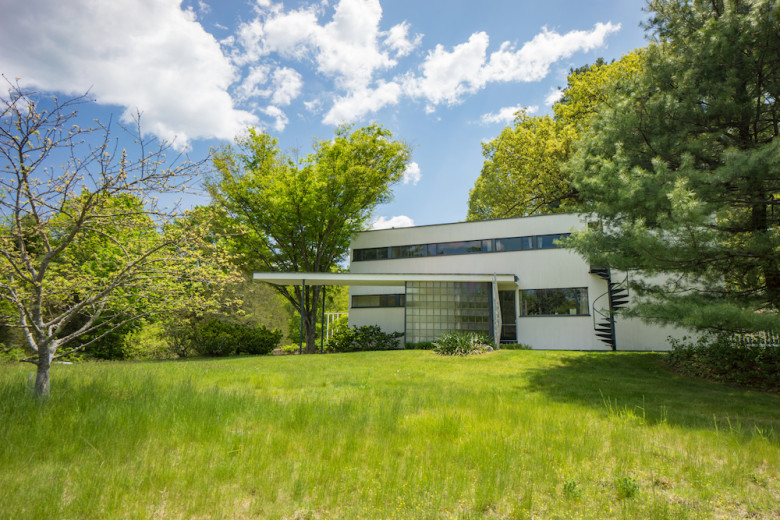The Gropius House in Lincoln. Photo credit: Historic New England