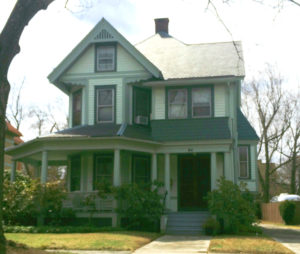 porch addition overwhelms original antique house